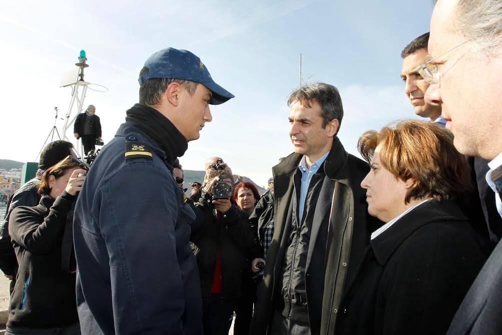 Επίσκεψη του Προέδρου της Νέας Δημοκρατίας κ. Κυριάκου Μητσοτάκη στη Λέσβο. 08/02/2016
