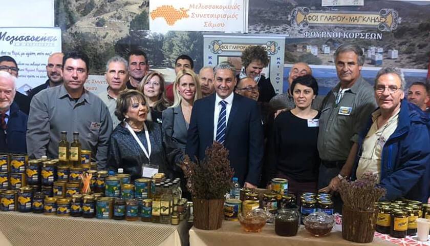 """Πλήθος κόσμου επισκέφθηκε το """"11ο Φεστιβάλ Μελιού"""" στην Αθήνα – Τιμώμενη η Περιφέρεια Βορείου Αιγαίου (ΒΙΝΤΕΟ)"""